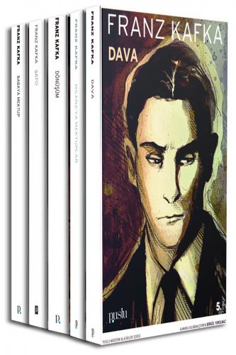 KAFKA SETİ (5 Kitap) Franz Kafka