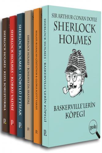 SHERLOCK HOLMES SETİ (6 Kitap) Sir Arthur Conan Doyle